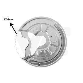 compre VAN WEZEL Chapa deflectora, disco de travão 7622373 a qualquer hora