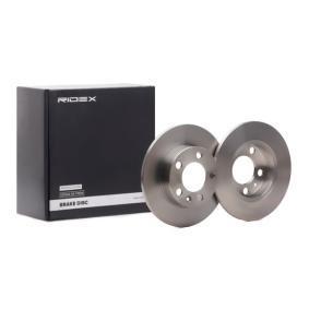 Disco freno RIDEX 82B0003 comprare e sostituisci