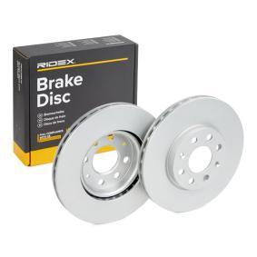 Disco freno 82B0017 con un ottimo rapporto RIDEX qualità/prezzo