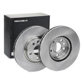 Disco freno 82B0164 con un ottimo rapporto RIDEX qualità/prezzo