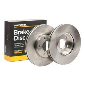 Disco freno 82B0105 con un ottimo rapporto RIDEX qualità/prezzo