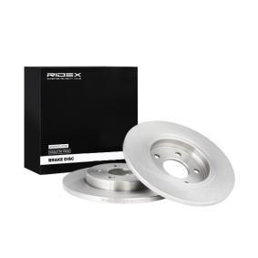 Disco freno 82B0013 con un ottimo rapporto RIDEX qualità/prezzo