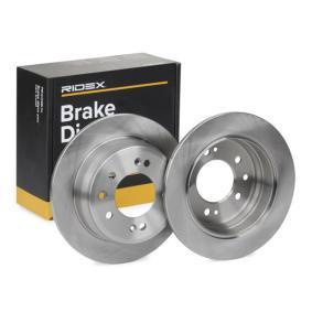 Disco freno RIDEX 82B0218 comprare e sostituisci