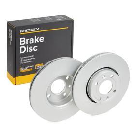 Disco freno 82B0079 con un ottimo rapporto RIDEX qualità/prezzo