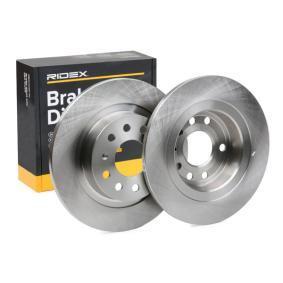 Disco freno RIDEX 82B0106 comprare e sostituisci