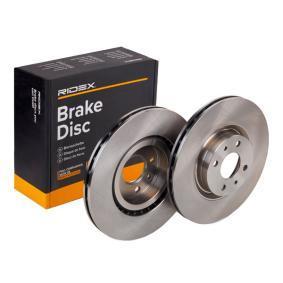 Disco freno 82B0216 con un ottimo rapporto RIDEX qualità/prezzo