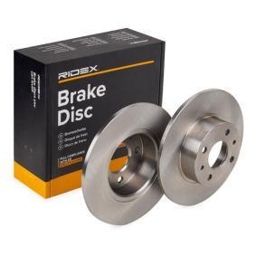 Koop en vervang Remschijf RIDEX 82B0055