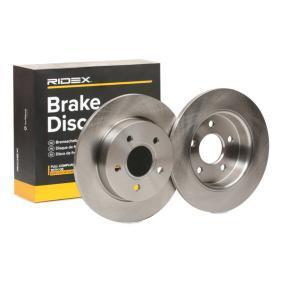 Disco freno 82B0214 con un ottimo rapporto RIDEX qualità/prezzo