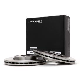 Disco freno 82B0067 con un ottimo rapporto RIDEX qualità/prezzo