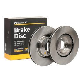 Disco freno 82B0132 con un ottimo rapporto RIDEX qualità/prezzo