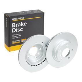 Disco freno 82B0168 con un ottimo rapporto RIDEX qualità/prezzo