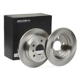 acheter RIDEX Disque de frein 82B0071 à tout moment