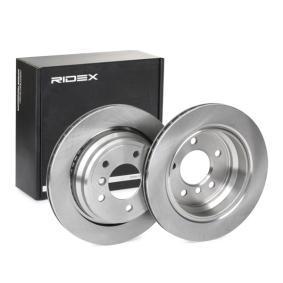 Disco freno 82B0162 con un ottimo rapporto RIDEX qualità/prezzo