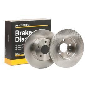 Koop en vervang Remschijf RIDEX 82B0054