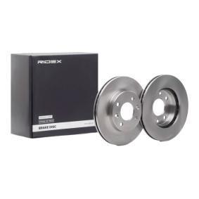 Disco freno 82B0042 con un ottimo rapporto RIDEX qualità/prezzo