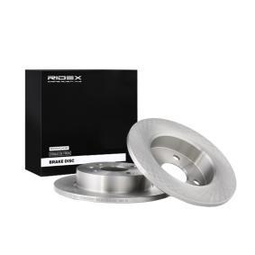Disco freno 82B0008 con un ottimo rapporto RIDEX qualità/prezzo