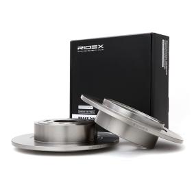 Disco freno RIDEX 82B0139 comprare e sostituisci