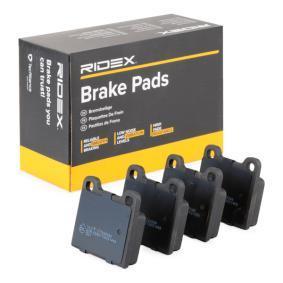 Compre e substitua Jogo de pastilhas para travão de disco RIDEX 402B0082