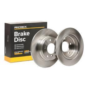 Disco freno 82B0226 con un ottimo rapporto RIDEX qualità/prezzo