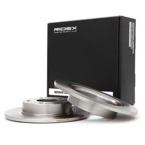 спирачен диск RIDEX 82B0082 купете и заменете