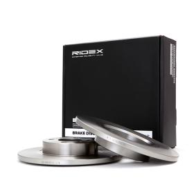 Disco freno 82B0069 con un ottimo rapporto RIDEX qualità/prezzo