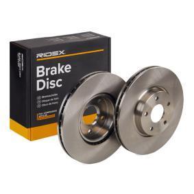 Disco freno 82B0309 con un ottimo rapporto RIDEX qualità/prezzo