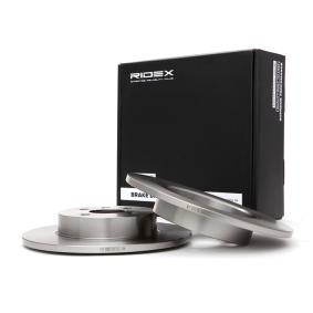 Disco freno 82B0087 con un ottimo rapporto RIDEX qualità/prezzo