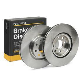Disco freno 82B0392 con un ottimo rapporto RIDEX qualità/prezzo
