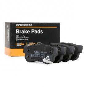 комплект спирачно феродо, дискови спирачки RIDEX 402B0690 купете и заменете