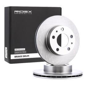 Disco freno 82B0173 con un ottimo rapporto RIDEX qualità/prezzo