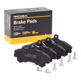 Compre e substitua Jogo de pastilhas para travão de disco RIDEX 402B0059