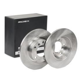 Disco freno 82B0227 con un ottimo rapporto RIDEX qualità/prezzo