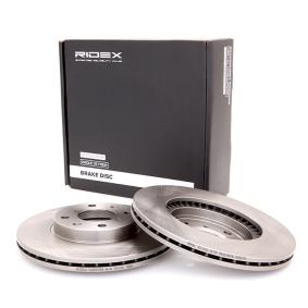 Disco freno 82B0056 con un ottimo rapporto RIDEX qualità/prezzo