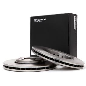 Disco freno 82B0504 con un ottimo rapporto RIDEX qualità/prezzo