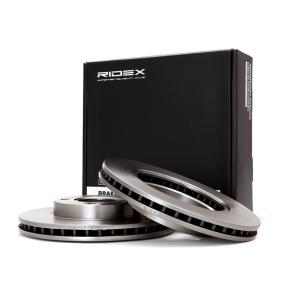 Disco freno 82B0225 con un ottimo rapporto RIDEX qualità/prezzo