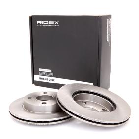 Disco freno RIDEX 82B0402 comprare e sostituisci