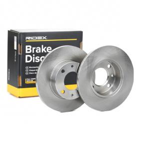 Bremsscheibe RIDEX 82B0710 günstige Verschleißteile kaufen