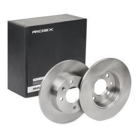 Disco de travão 82B0696 RIDEX Pagamento seguro — apenas peças novas