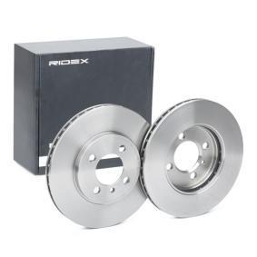 Disco freno 82B0285 con un ottimo rapporto RIDEX qualità/prezzo