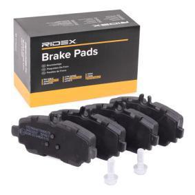Comprar y reemplazar Juego de pastillas de freno RIDEX 402B0090