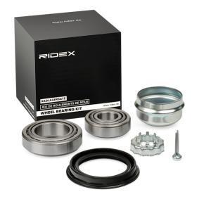 kerékcsapágy készlet RIDEX 654W0002 - vásároljon és cserélje ki!