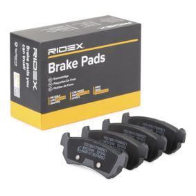 Compre e substitua Jogo de pastilhas para travão de disco RIDEX 402B0198