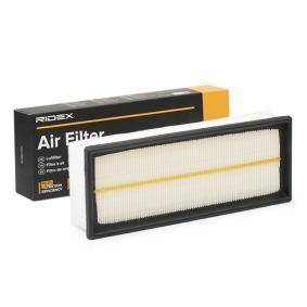 Kupte a vyměňte Vzduchový filtr RIDEX 8A0021
