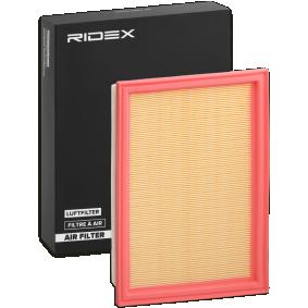 oro filtras 8A0019 su puikiu RIDEX kainos/kokybės santykiu