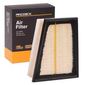 въздушен филтър RIDEX 8A0080 купете и заменете