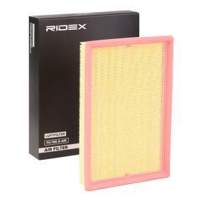 Aγοράστε και αντικαταστήστε τα Φίλτρο αέρα RIDEX 8A0024