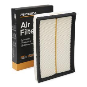 Filtr powietrza RIDEX 8A0022 kupić i wymienić