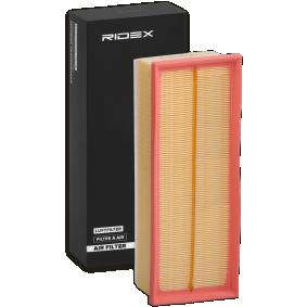 oro filtras 8A0086 su puikiu RIDEX kainos/kokybės santykiu