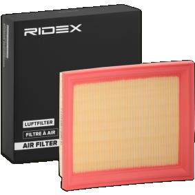 Pērc RIDEX Gaisa filtrs 8A0043 jebkurā laikā