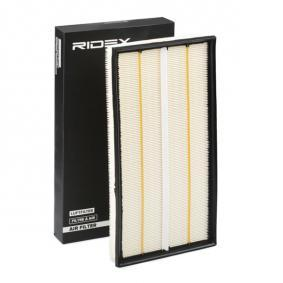 Filtro aria RIDEX 8A0089 comprare e sostituisci